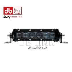 8″ SINGLE ROW Combination Light bar
